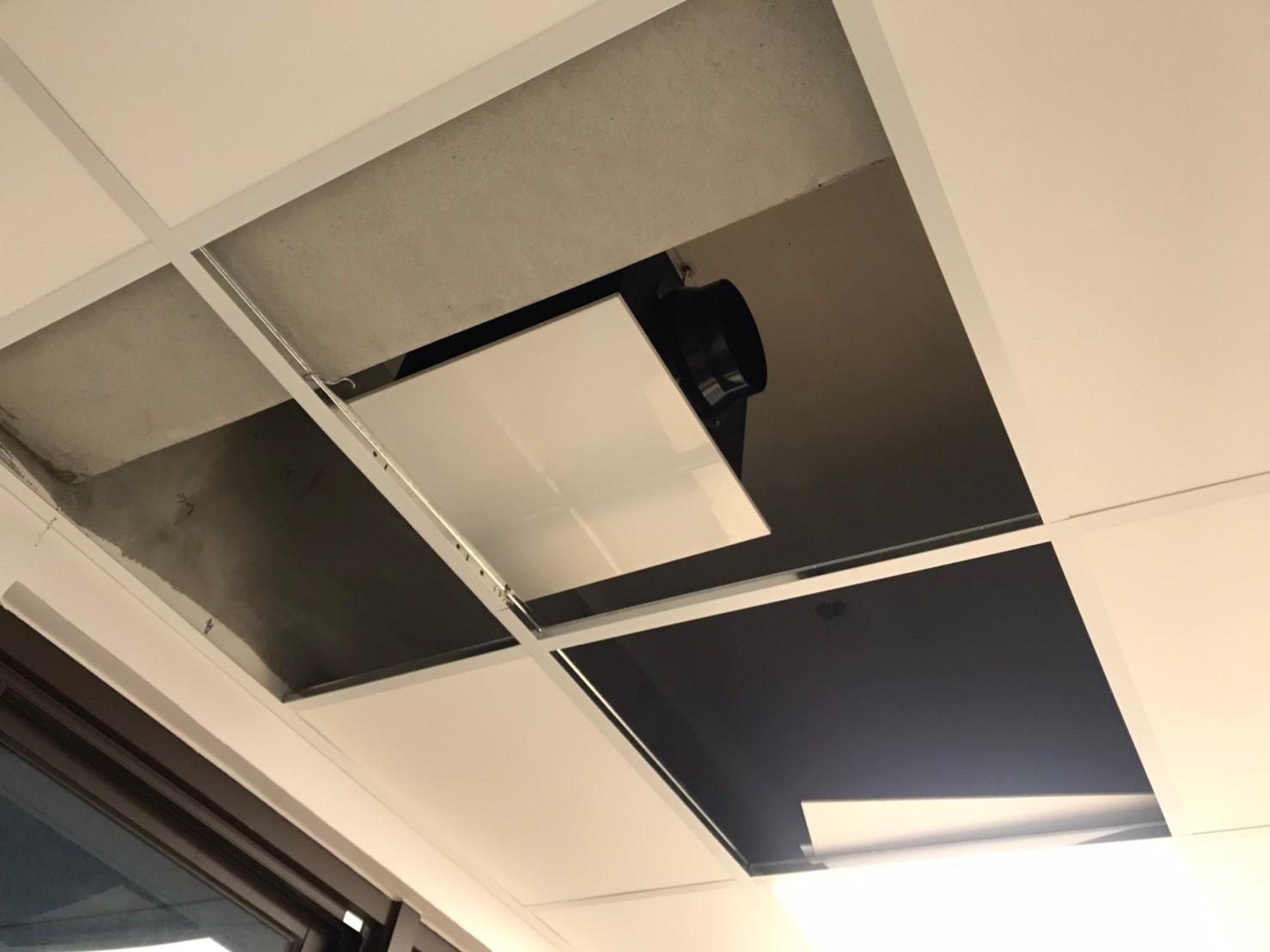 空氣淨化箱吊裝