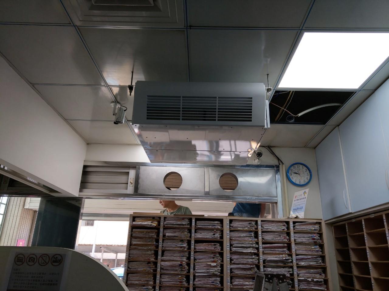 全熱吊掛施工